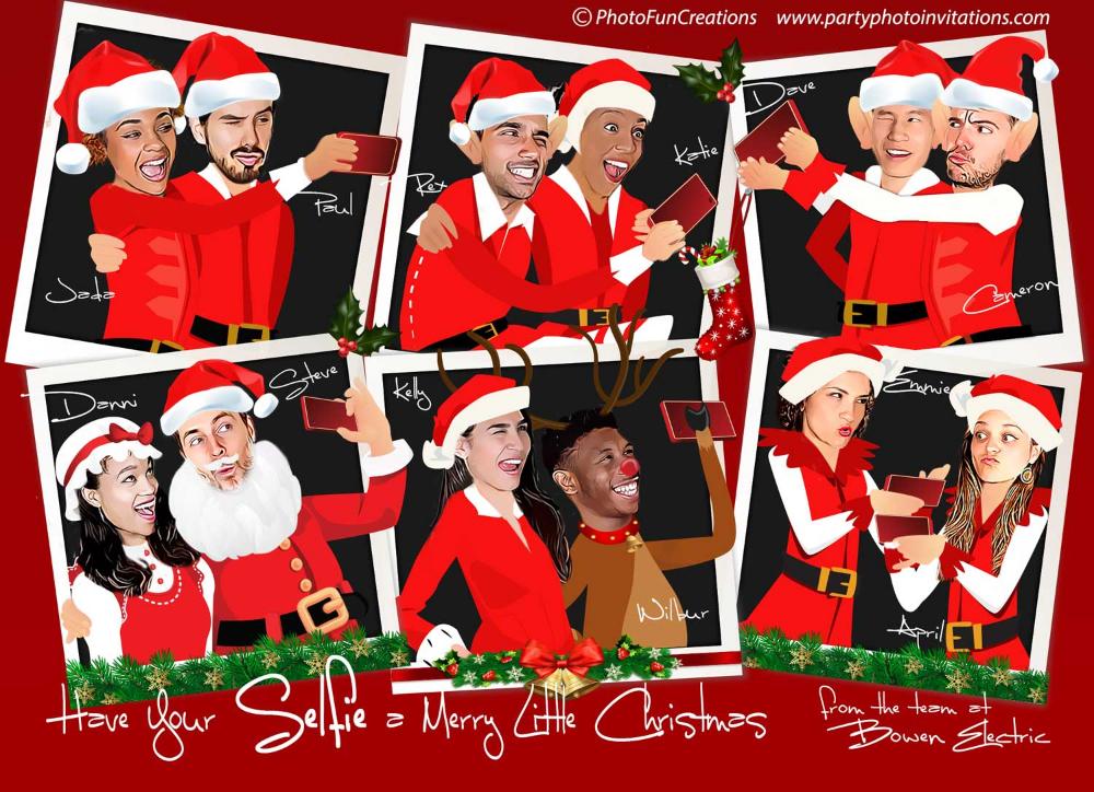 Elfie Selfie Christmas Card Company Christmas Card Elves Elfie Selfie Christmas Card Selfie Christmas Card Company Christmas Cards Selfie Christmas Card Ideas
