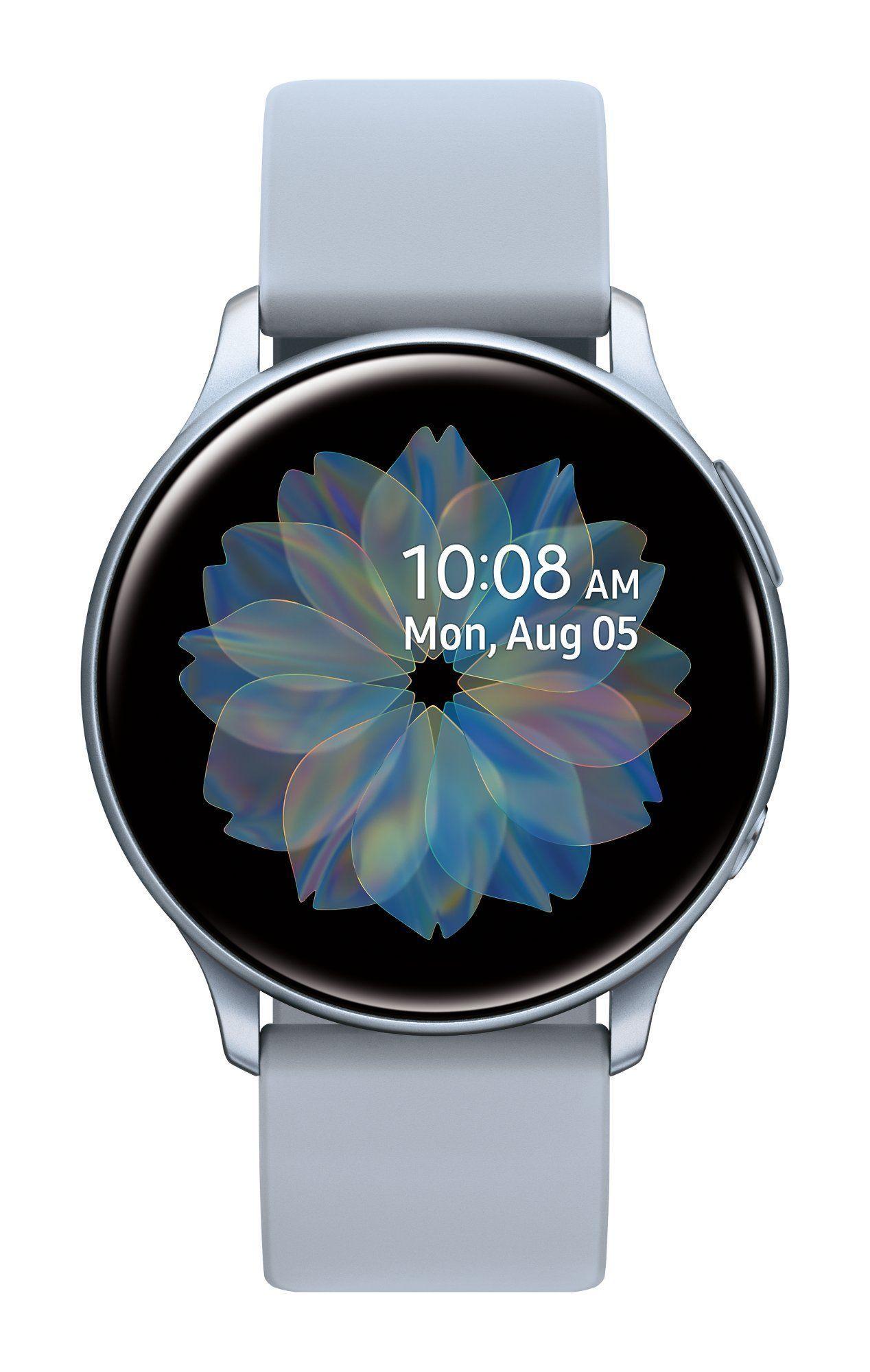 Samsung Galaxy Watch Active2 40mm Silver Bluetooth In 2020 Samsung Smart Watch Smart Watch Samsung Galaxy