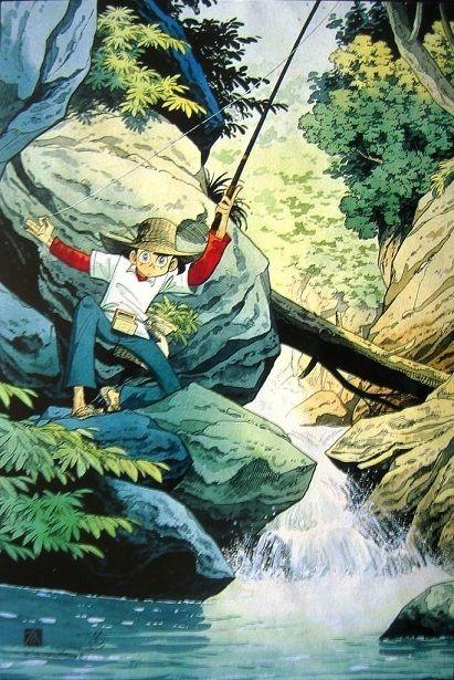 Pin By Antony Wong On 三平三平 Art Fly Fishing Tenkara Fly