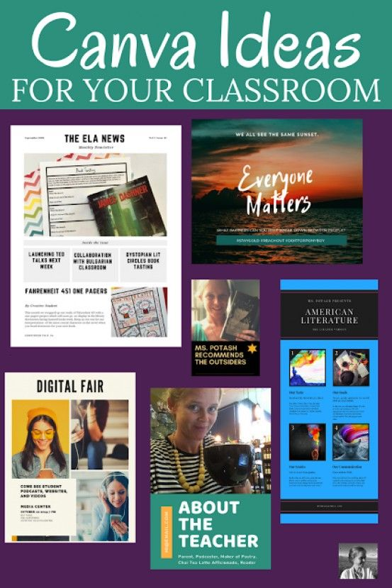 to use Canva in your classroom to help you create posters programs newsletters and more? You can al