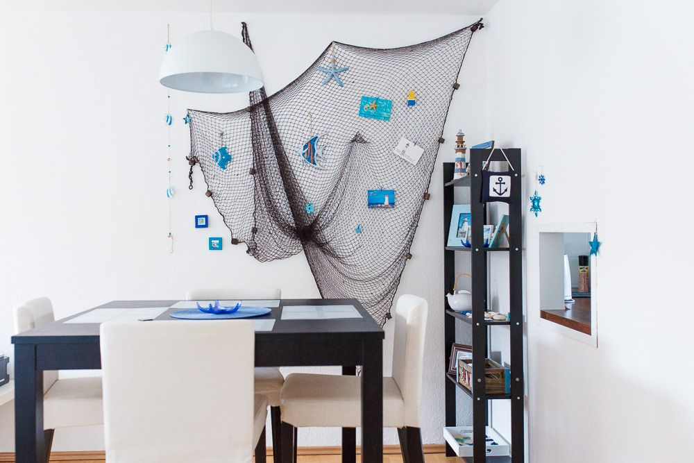 Fischernetz | Fishing net, Filet de peche, Red de pesca, deco, decoration, Angeles Antolin Hoyos