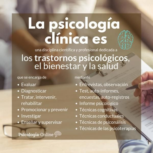 Qué Es La Psicología Clínica Definición Historia Objetivo Y Ejemplos Qué Es La Psicología Clínica Res Psicologia Clinica Infografia Psicologia Psicologia