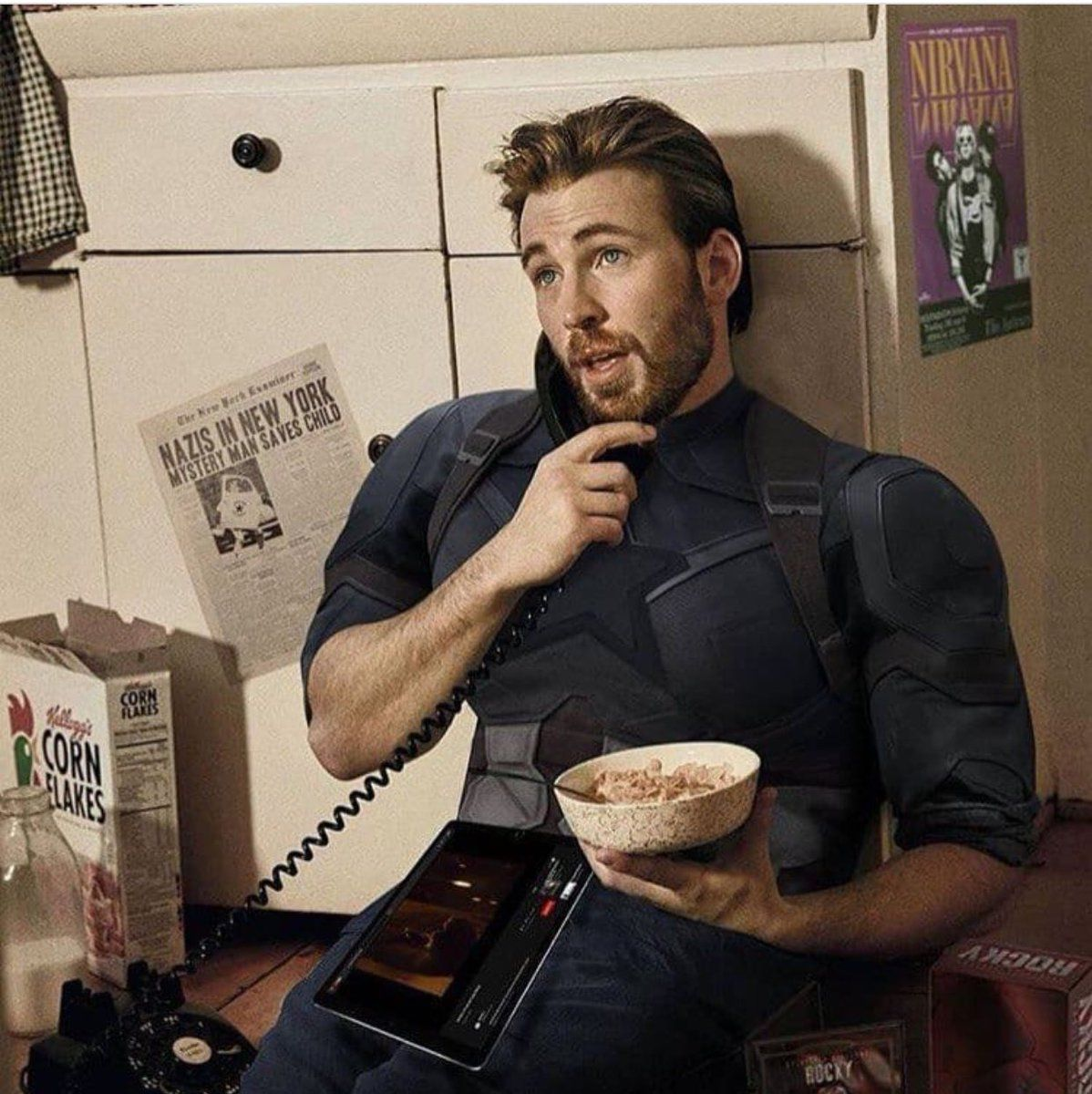 "Chris Evans Online on Twitter: ""This one! #edit Credits to ..."