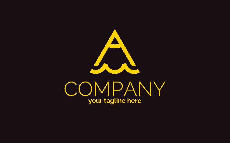 A M Pencil Logo Template 83219 Logo Templates Templates Logos