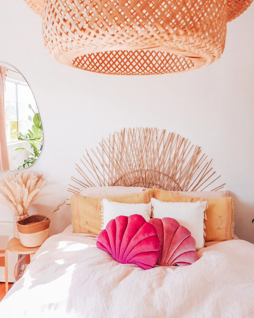 Watermelon Sea Shell Pillow