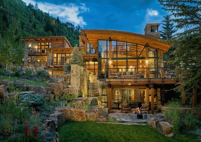 Modern Rustic Residential Architecture House Design