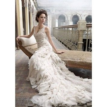 Lazaro Wedding Dress Ball Gowns Wedding