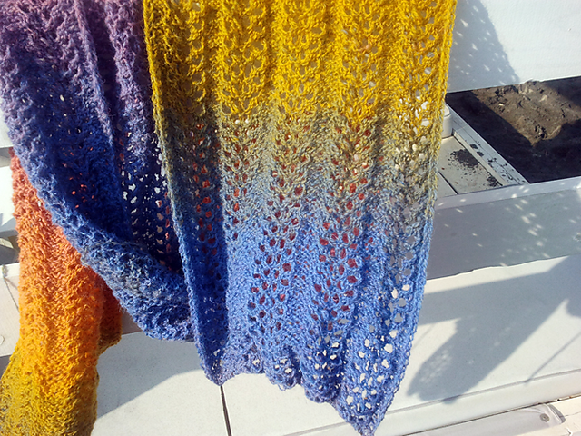 Ravelry: Svieser's Katjas Schal #Knitulator #sammelt #Ideen