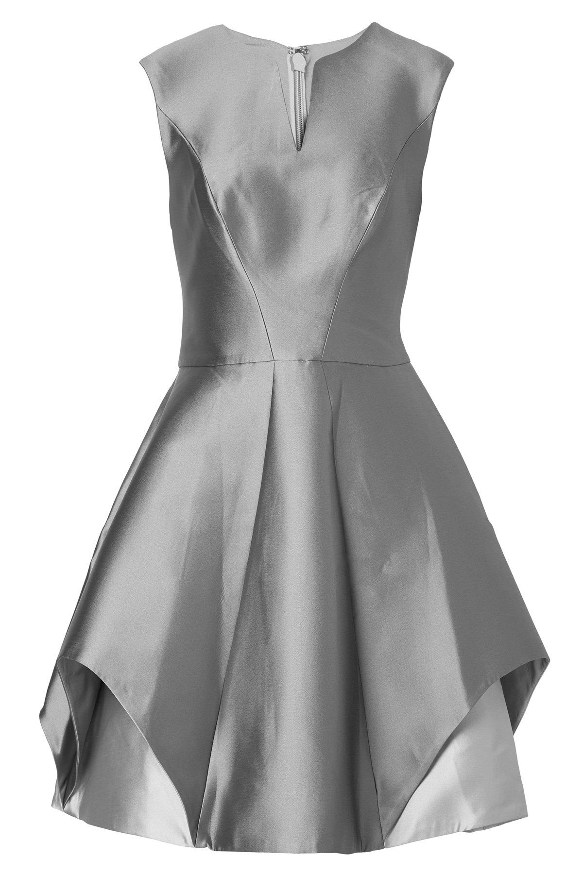 Halston heritage satin dress with silk dress and gowns pinterest