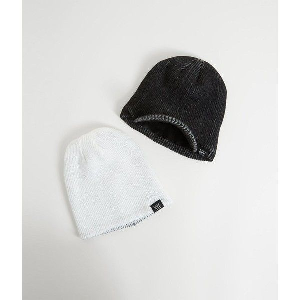 6c0ccb3707d BKE Jordan Two Pack Beanies ( 25) ❤ liked on Polyvore featuring men s  fashion