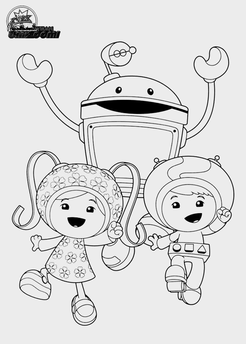 Team Umizoomi Coloring Pages To Print   Coloring Pages   Pinterest