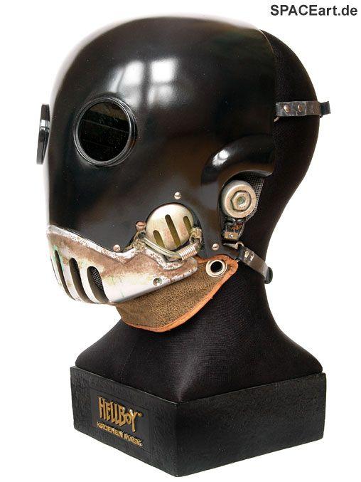 Hellboy: Kroenen Maske, Maske ... http://spaceart.de/produkte/hlb002.php