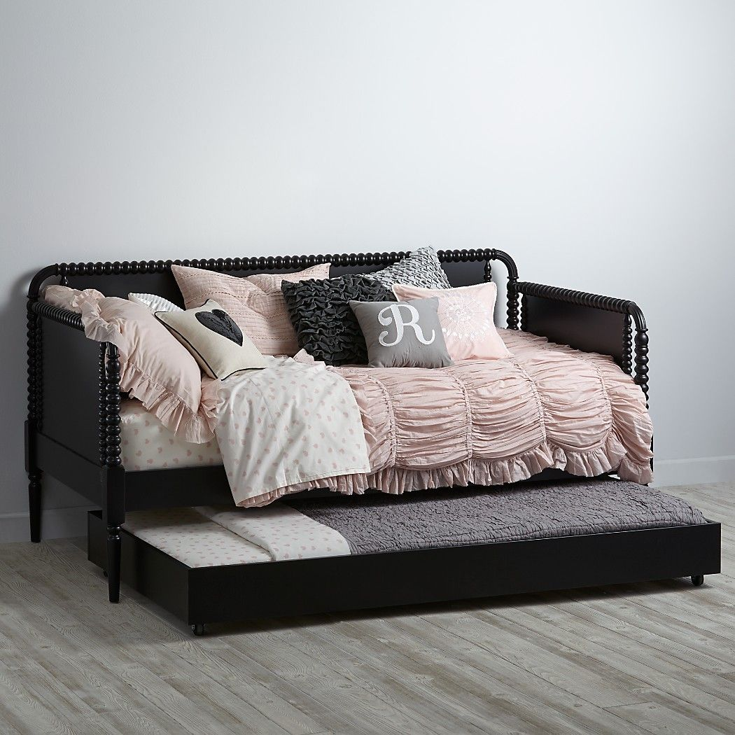 - Jenny Lind Kids Daybed (Black) Crate And Barrel Twin Trundle