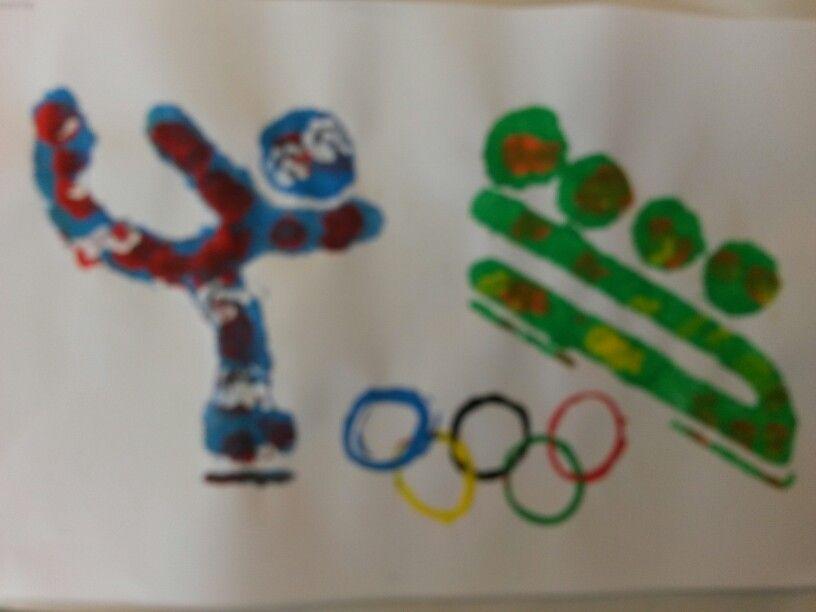 Olympische winterspelen kleuters