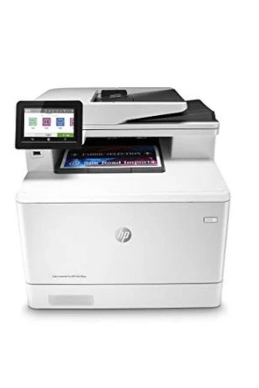 Hp Color Laserjet Pro Multifunction Printer Works With Alexa In 2020 Multifunction Printer Laser Printer Printer