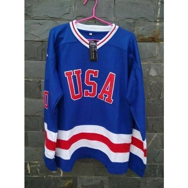 1980 Miracle On Ice Team Usa Jim Craig Hockey Jersey Do You Believe In Miracles Represent Your Pride With This Fully Stitched Usa Jim Craig Ice Ho Hockey Jersey