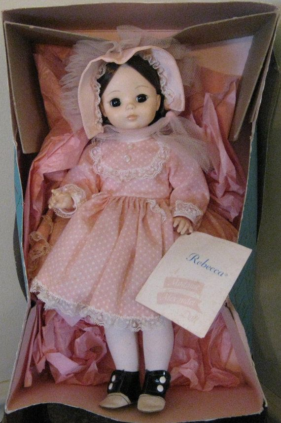 04881bbaeaa90 Vintage 1960s Madame Alexander doll Rebecca. I had this doll as a ...