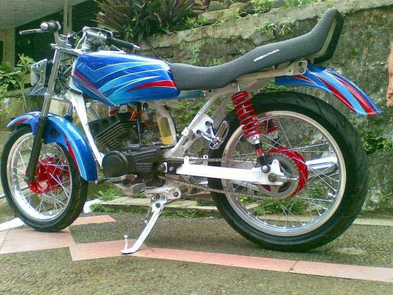 Modifikasi Motor RX King Motor, Biru, Motor sport