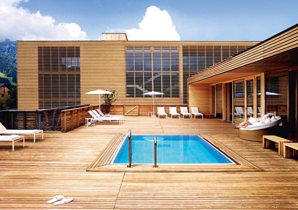 Wohntrends Hotel post, moderne architekture - modernes design spa hotel
