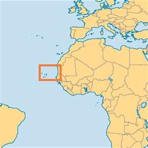 Cape Verde Location On Africa Map.Location Of Cape Verde In 2019 Cape Verde Map Verde