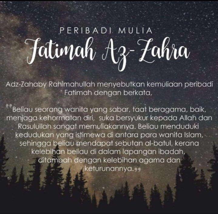 Fatimah Az-Zahra in 2020