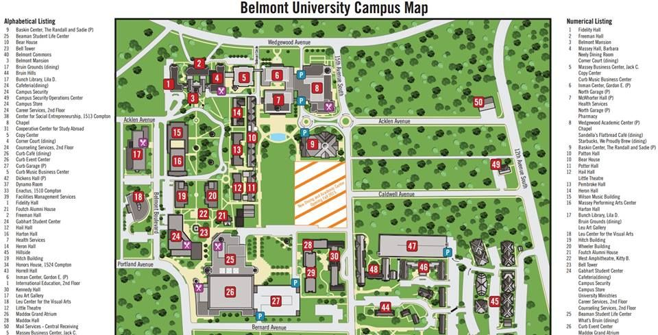 The Foutch Alumni House is now officially on the Belmont