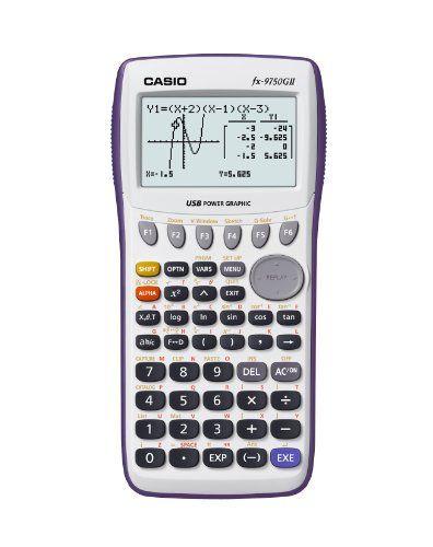 Casio Fx 9750gii Graphing Calculator Casio Http Www Amazon Com Dp B00154gsqa Ref Cm Sw R Pi Dp Aplmub1cam0ha Calculator Graphing Calculator Graphing