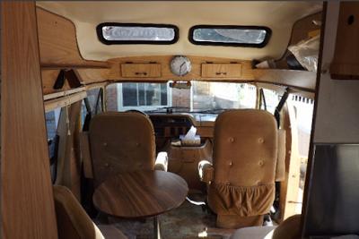 diy van life 1985 Dodge RAM E-250 Custom Camper Van | Van