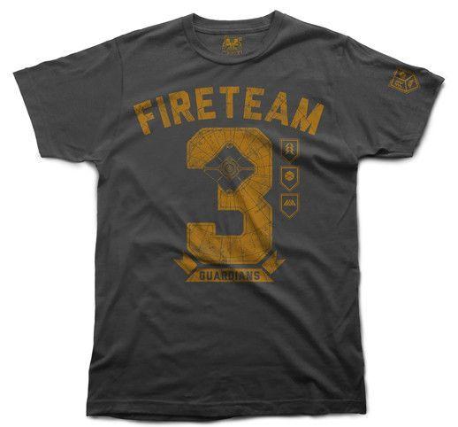 Bitmap'd   Triple Threat   Destiny T-shirt   Bitmap'd   Video Game ...