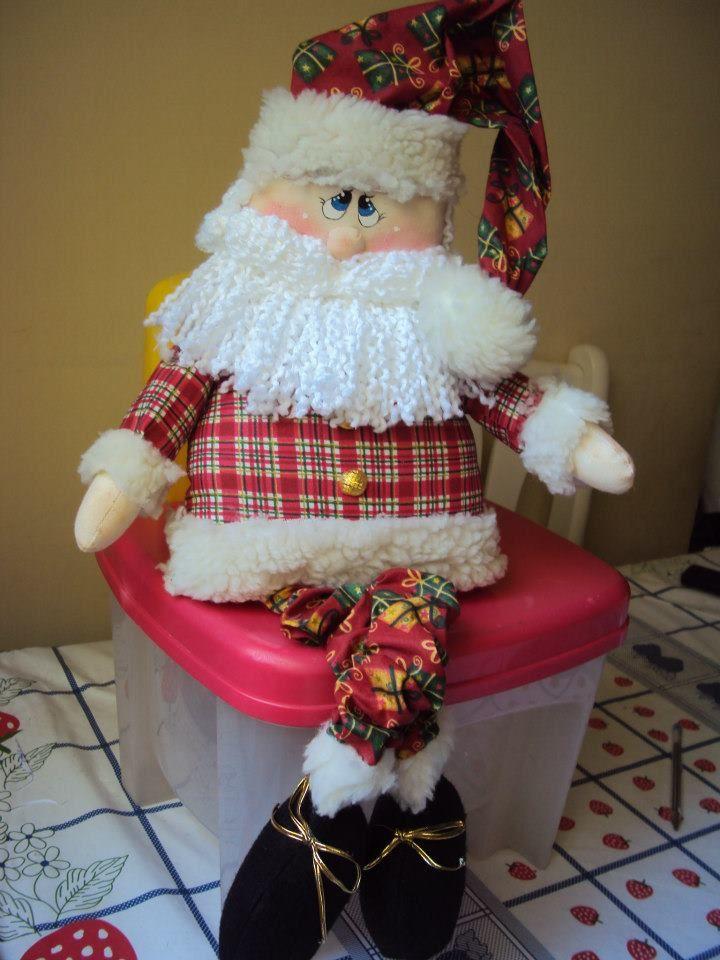 Papa Noel en Paño Lency