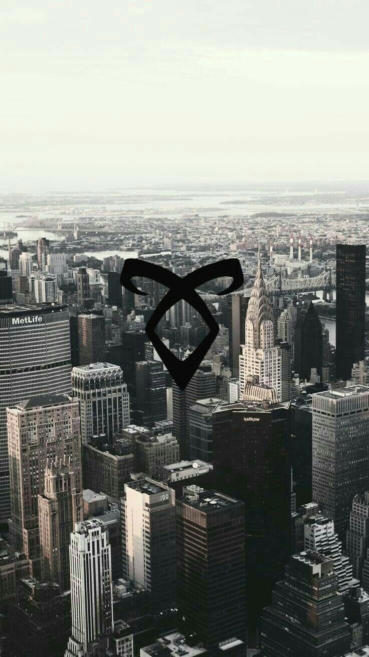 Shadowhunters Iphone Wallpaper Wallpaper Cazadores De Sombras Runa Poder Angelical