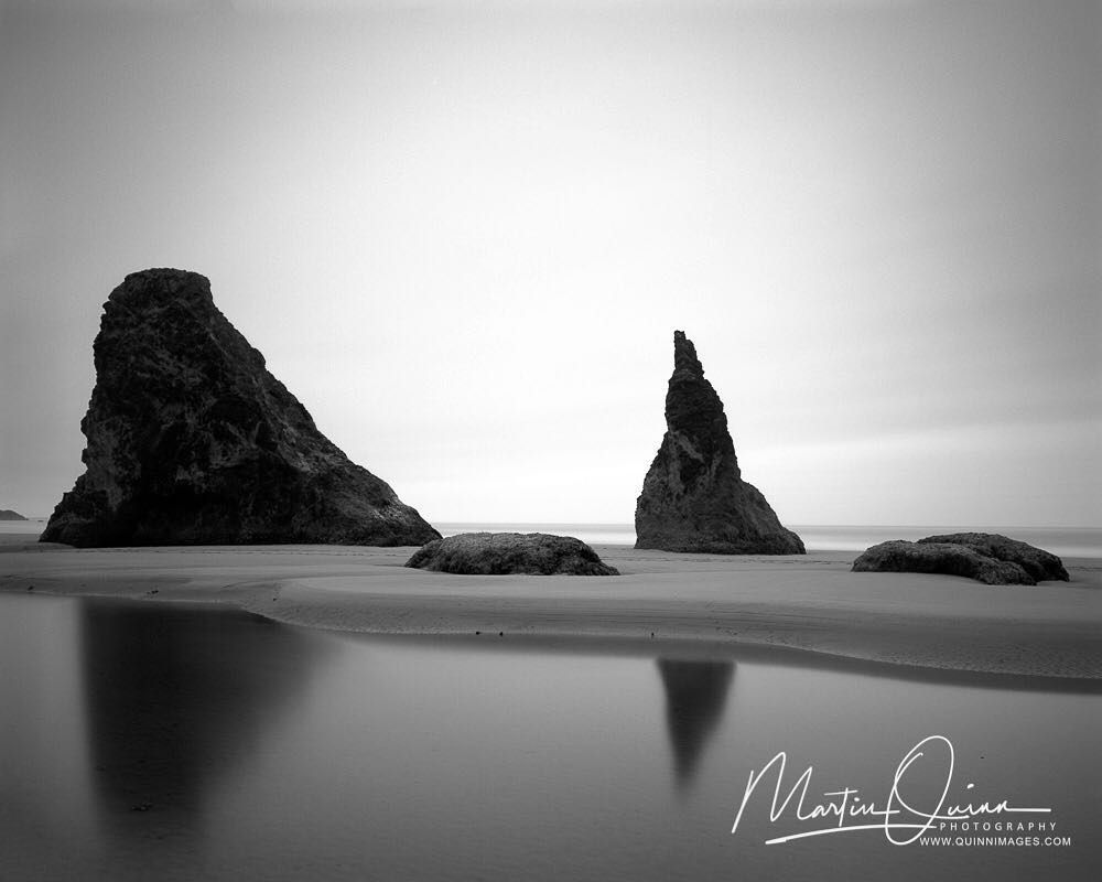 This is my first time trying a 10 stop nd filter on 4x5 black and white