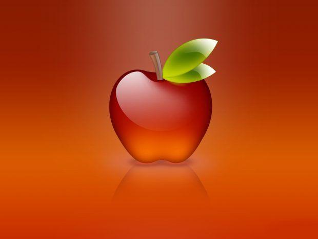Glass Red Apple 3d Background Apple Wallpaper Apple Photo Apple Logo Wallpaper Iphone