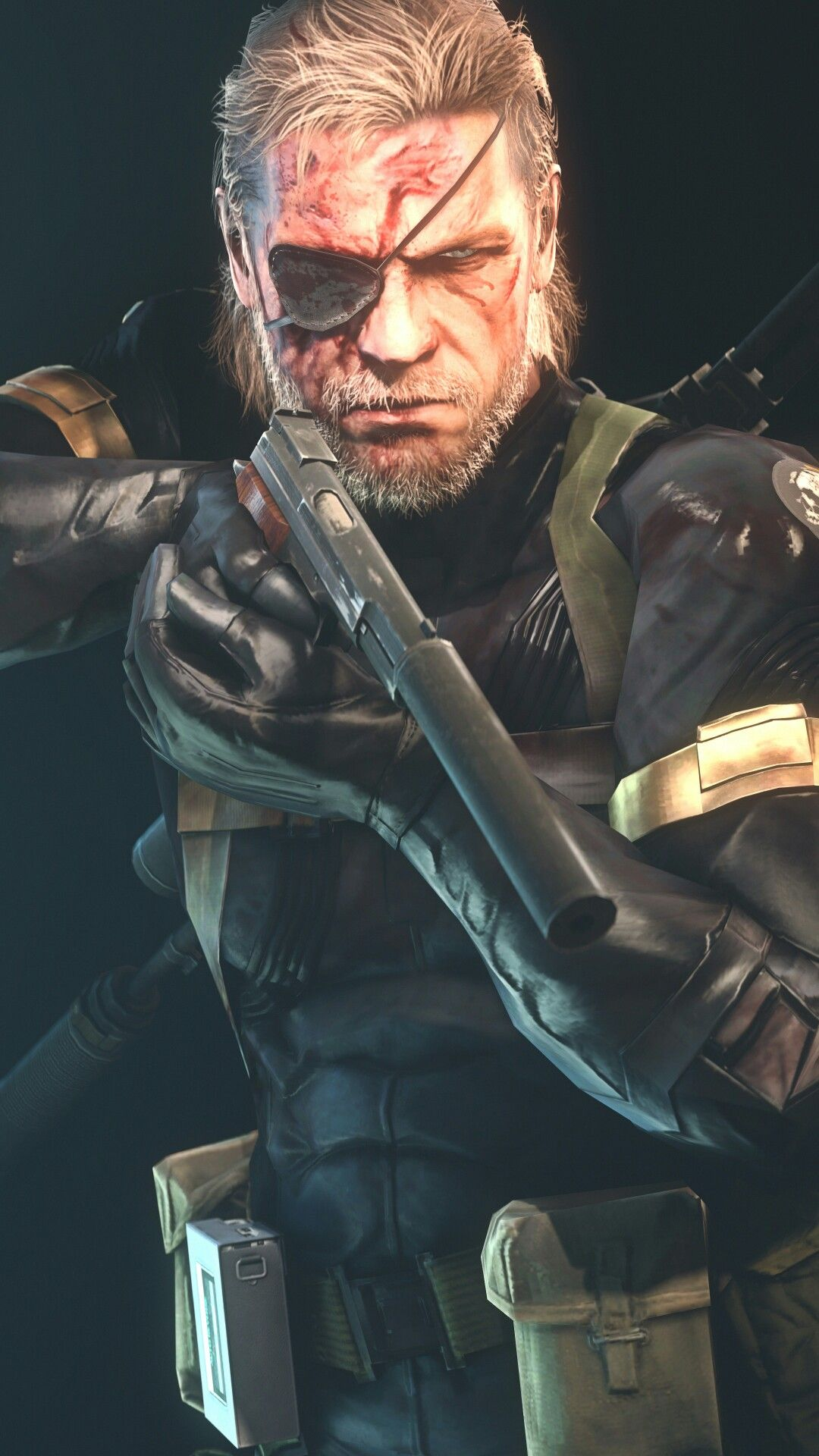 Big Boss Hd Mgs Metalgearsolidv Mgsv Groundzeroes Snake
