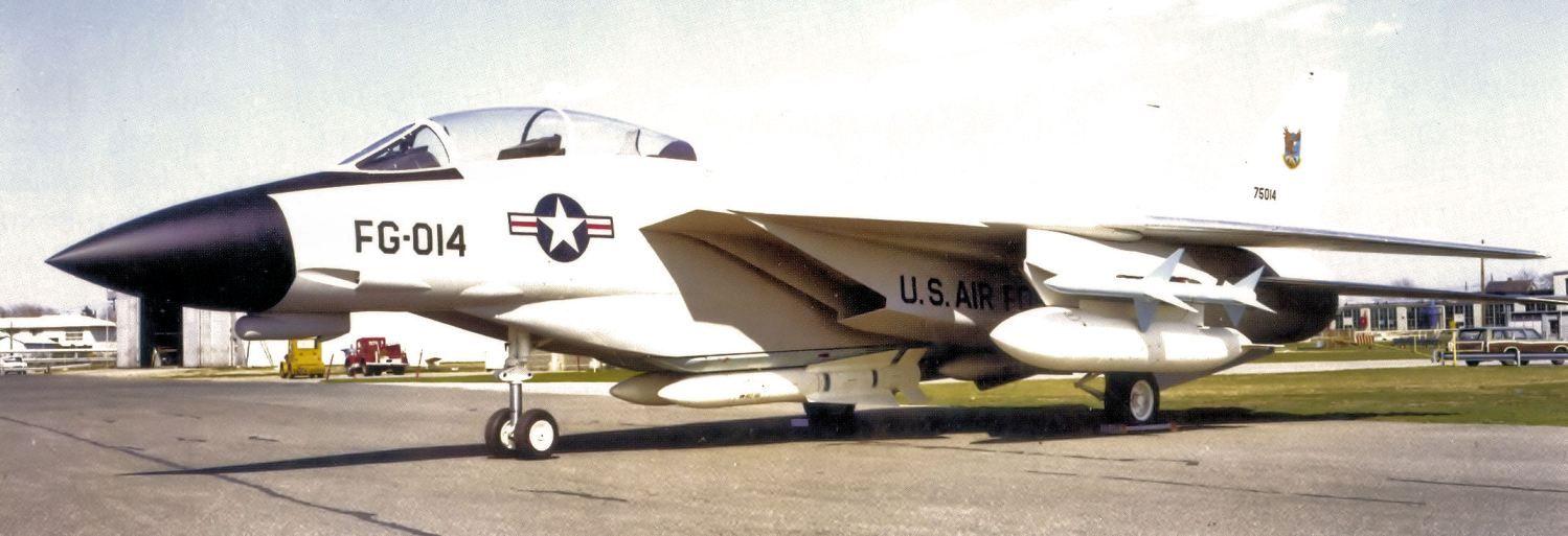 Grumman F-14 Tomcat ADCOM F-14 development for Improved Manned Interceptor USAF program