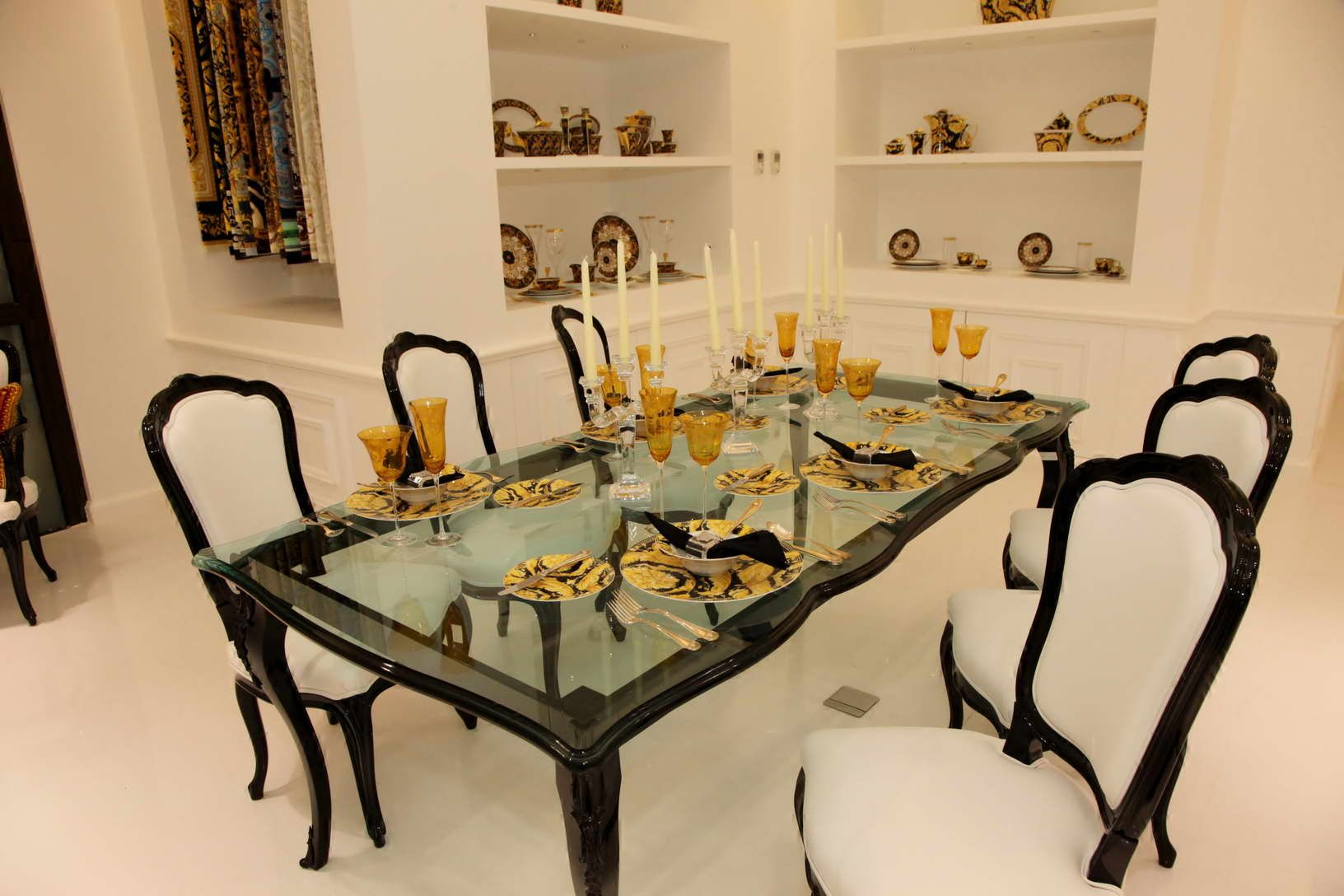 Versace Home Opens New Boutique In Downtown Beirut, Lebanon ... Dining Table  ...