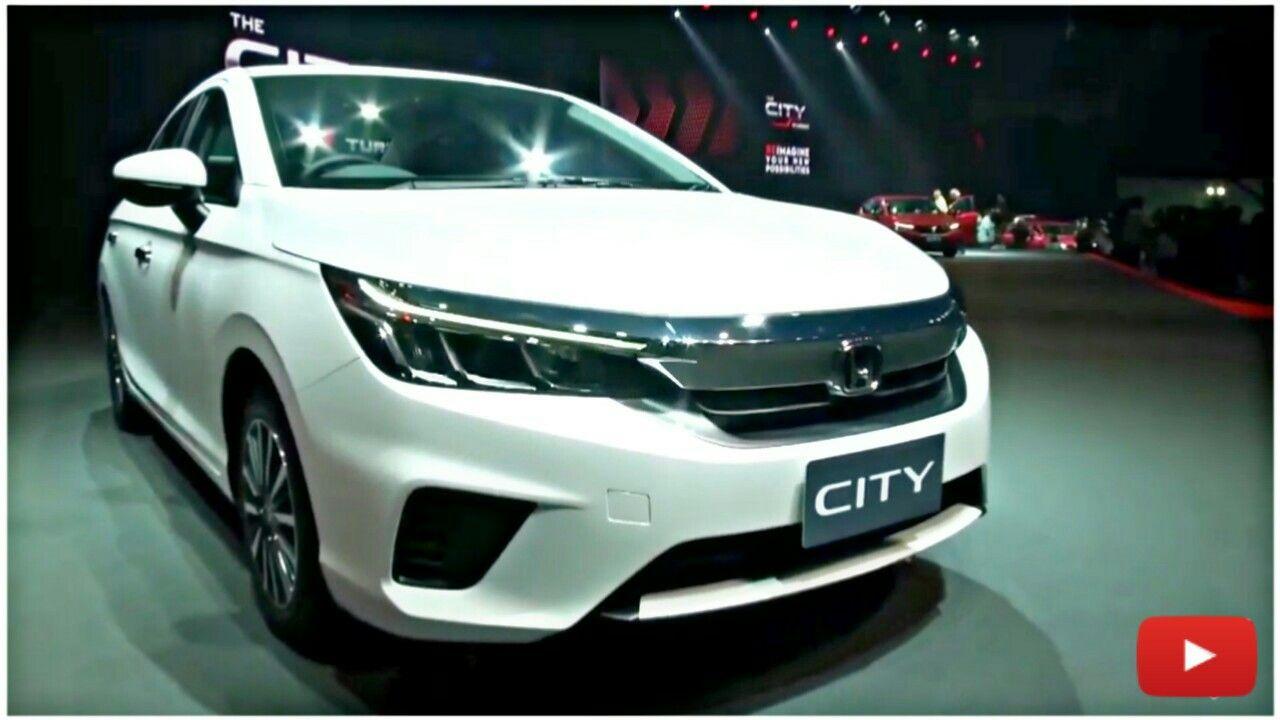 All New 2020 Honda City Facelift New Honda Honda City Honda