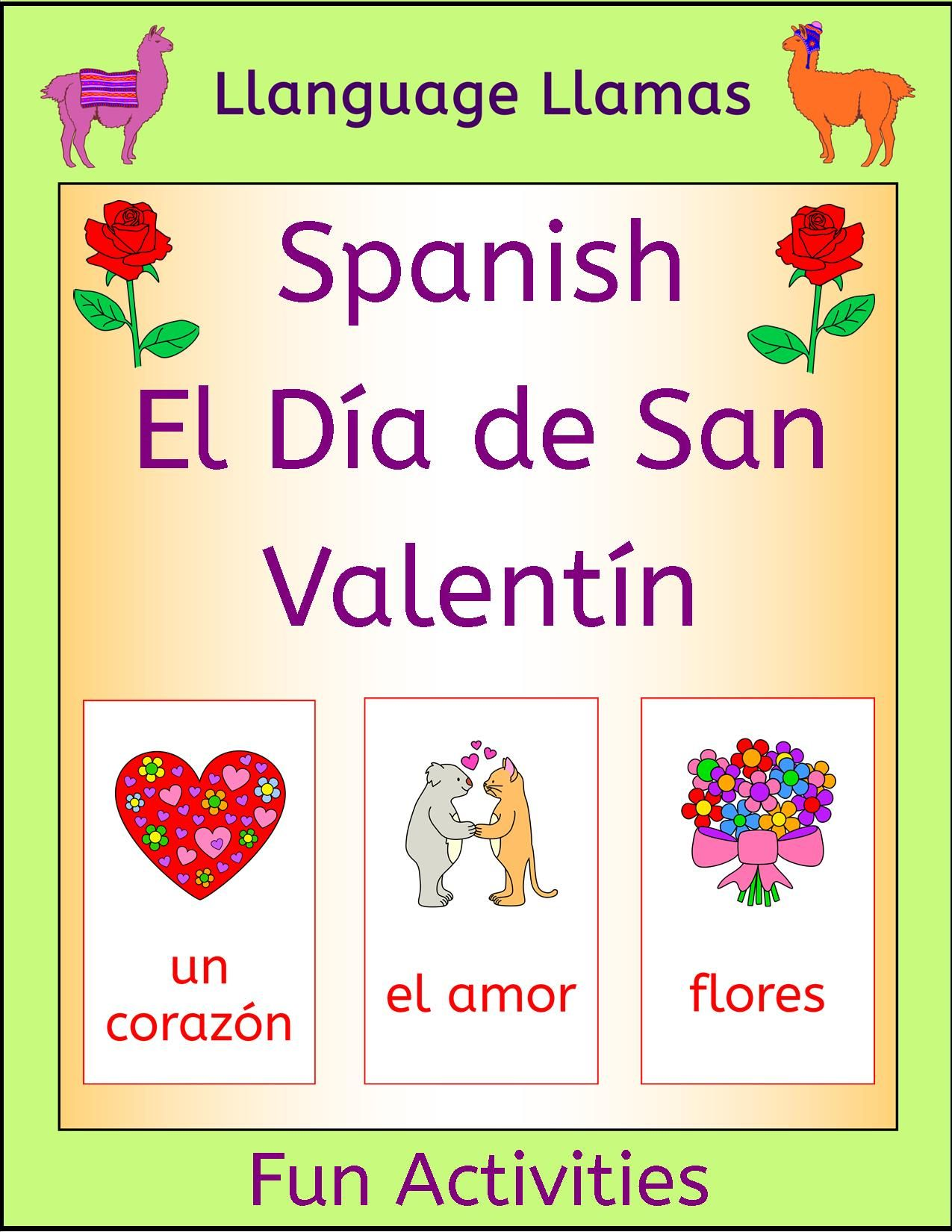 Spanish Valentine S Day