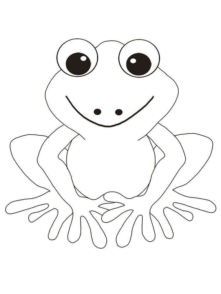 Frog Colouring Pages Printable Below Is A Collection Of Frog Coloring Page Which You Can Download Fo Frog Coloring Pages Animal Coloring Pages Colouring Pages