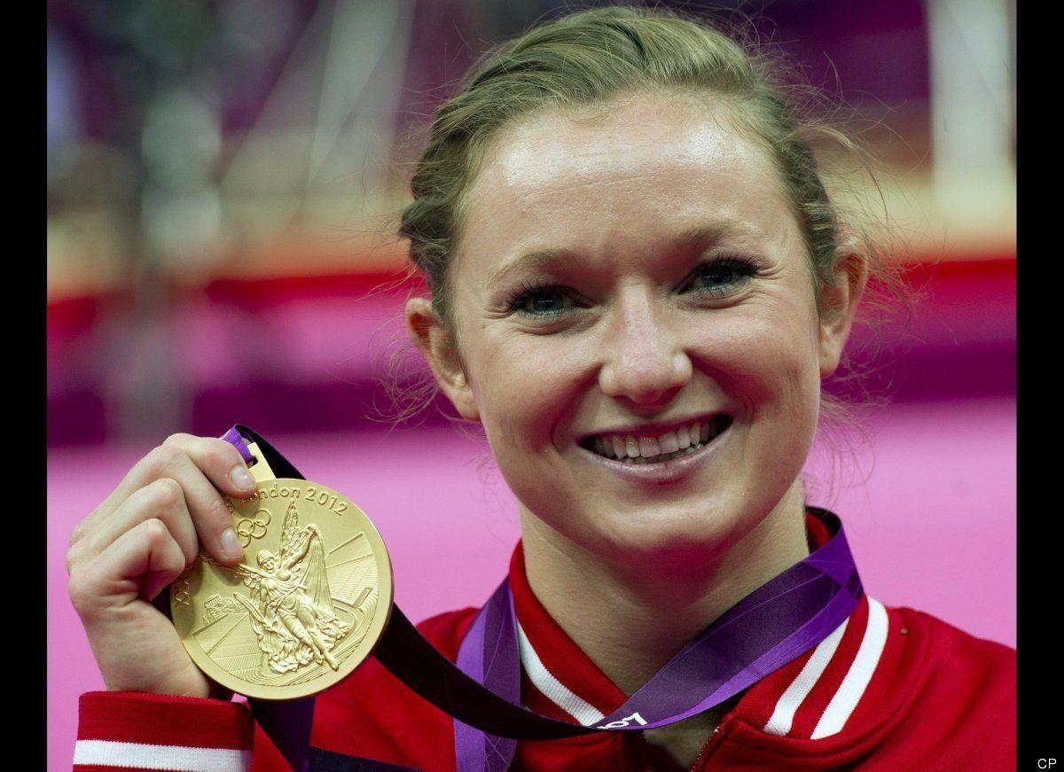 Rosannagh MacLennan wins Gold Women's Trampoline
