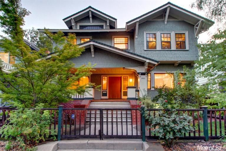 four bedroom craftsman style home in midtown sacramento sold for 98500 in dec 2015 - Craftsman Home 2015