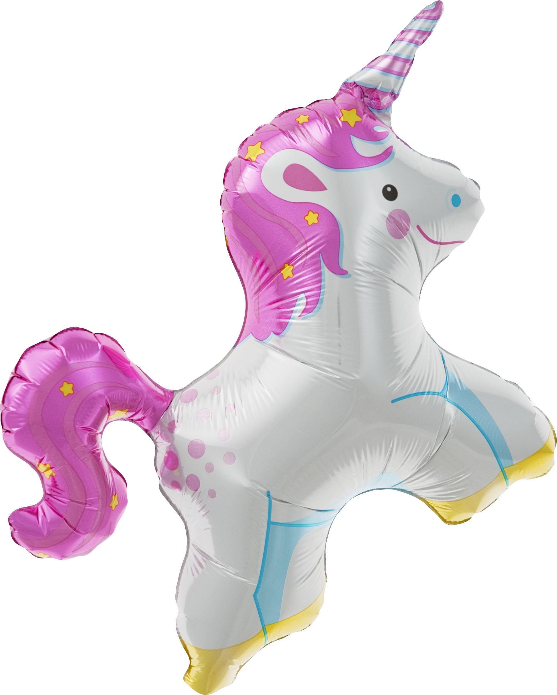 Unicorn Air Fill Foil Balloon Kit