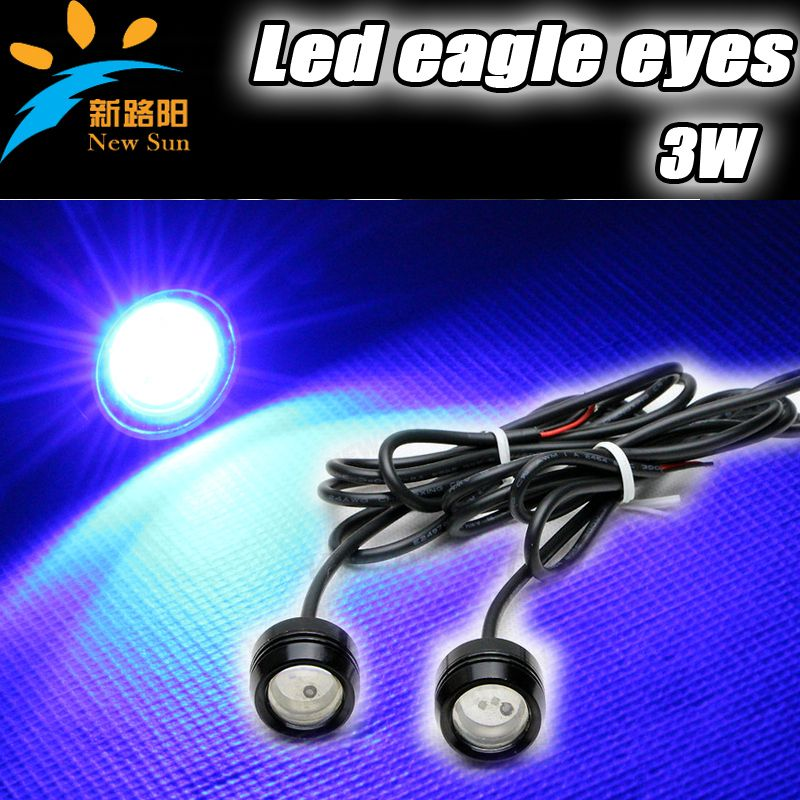 2014 High Brightness 3W LED Eagle Eyes Auto Lamps,General Use For Stop  Reverse Park