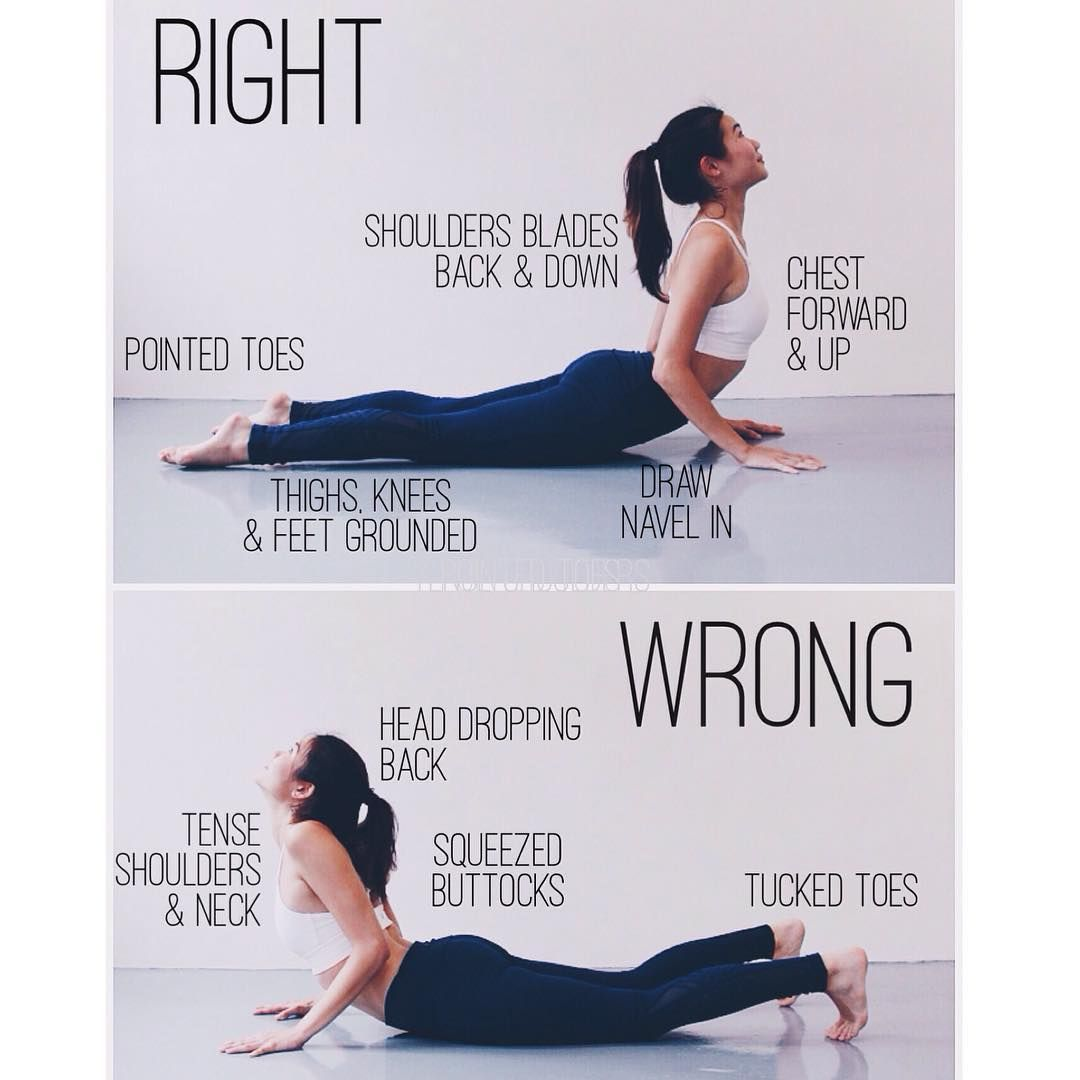 Cobra Pose Tips
