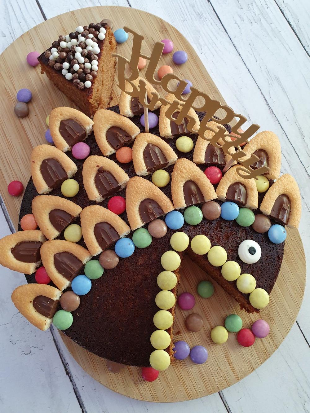 Mon gâteau d'anniversaire poisson   Audrey Cuisine