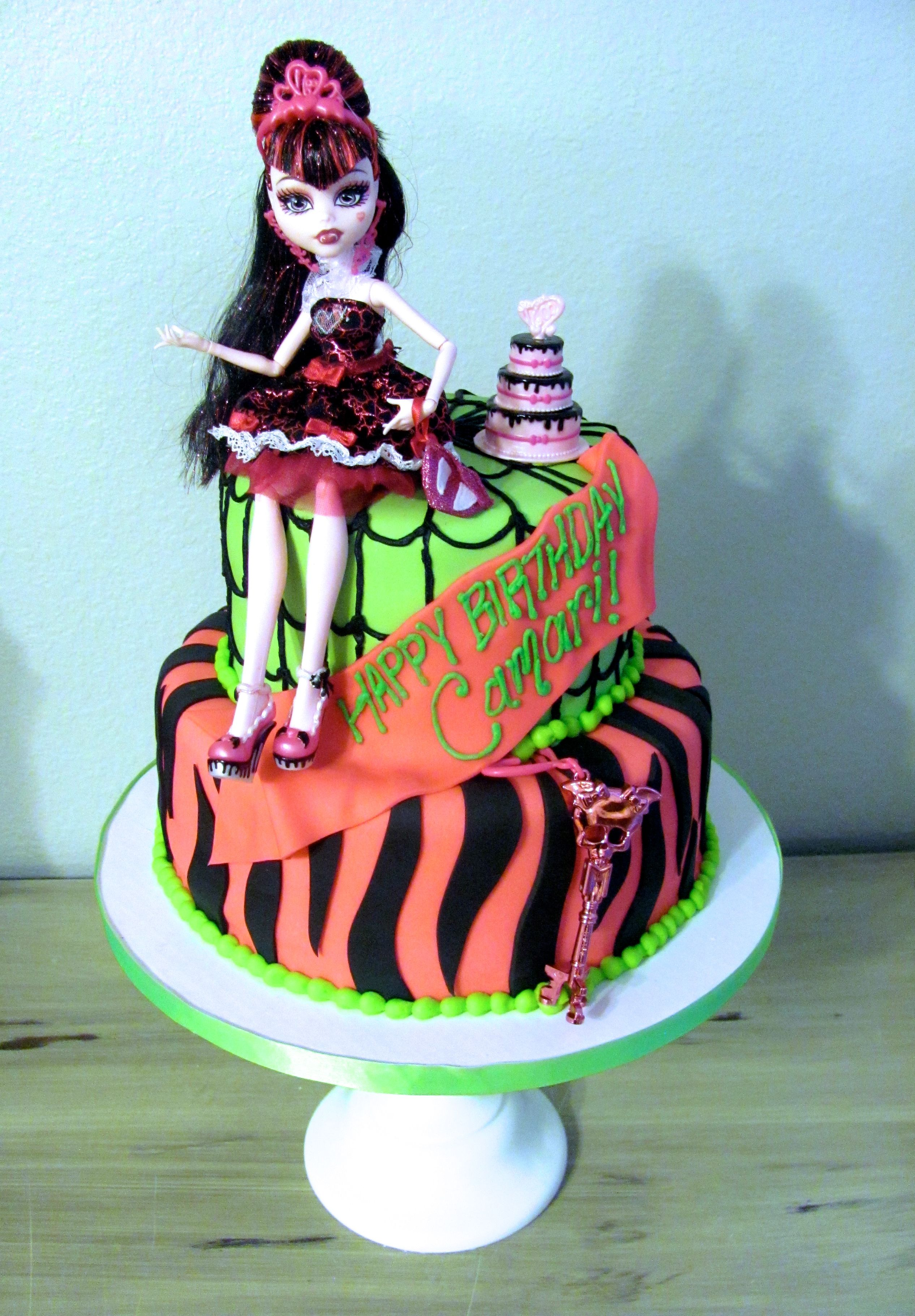 monster high cakes Monster High Birthday Cake cakes Pinterest