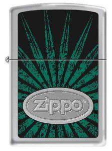 Zippo Blackgreen Foliage Lighter Custom Made by Zippo. $31.30