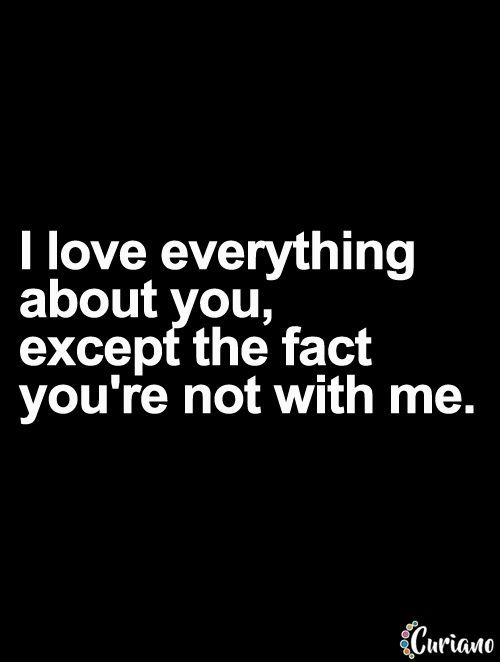 Love Quotes For Him : Missing you already baby see u when you come home i love you millions off millio... - Quotes Time | Extensive collection of famous quotes by authors, celebrities, newsmakers & more