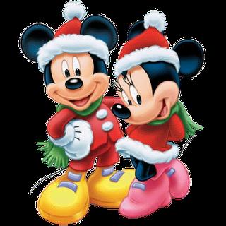 Png Image Trans Back Minnie Navidena Dibujos Animados Navidenos Imagenes Mickey Y Minnie