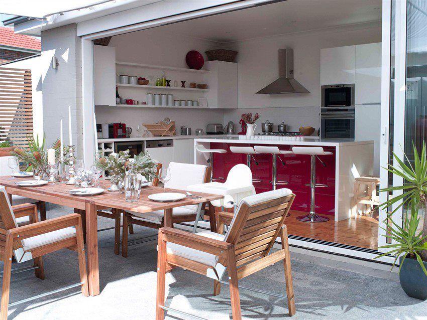 integrar el patio a a cocina !   Hogar   Pinterest   Patios, Cocinas ...